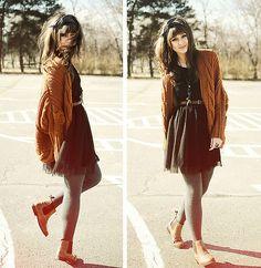 Autumn. (by Mirela Chan) http://lookbook.nu/look/4196625-Autumn