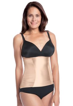 18ee73494f8 Pull on waist shaper by Comfort Choice