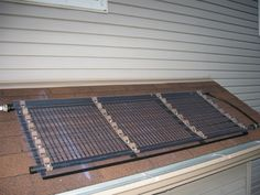 DIY instructables Pool Solar water heater