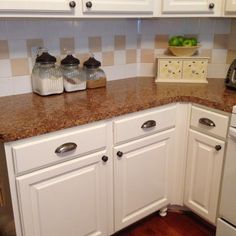 Texas Decor: How We Painted Our Kitchen Cabinets: A Tutorial