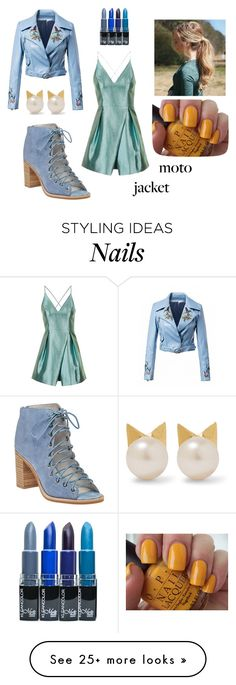 """Untitled #135"" by donna-barbrapapa on Polyvore featuring Topshop, Jeffrey Campbell, Aamaya by priyanka and OPI"