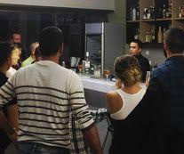 presented in bartending seminar level Bar Academy Hellas. Bacardi, Bartender, Cocktails, Mens Tops, Craft Cocktails, Bacardi Cocktail, Cocktail, Smoothies