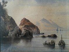Consalvo Carelli 1818-1900 Watercolour by LincolnCollectibles