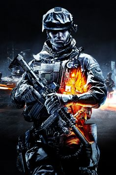 Battlefield 3 is a first-person shooter video game developed by EA DICE and published by Electronic Arts. It is a direct sequel to Battlefield and the eleventh installment in the Battlefield franchise. Battlefield 4, Battlefield Bad Company 2, Battlefield Hardline, Navy Seals, Fullhd Wallpapers, Indian Army Special Forces, Indian Army Wallpapers, Military Drawings, Military Tattoos