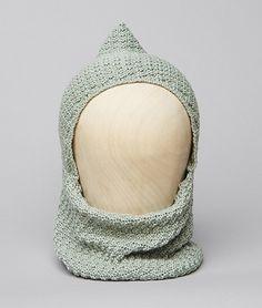 Cuello bebé capucha verde | Nicoli