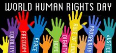Remember your humanity, and forget the rest. Today is Human Rights Day. We all need to work together to protect the rights of all people.