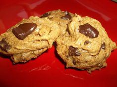 Chocolate Chunk Almond Butter Cookies (Gluten Free/ Grain Free/ Refined Sugar Free/ Dairy Free)
