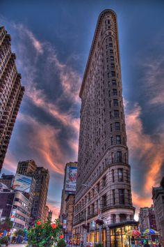 ☀NEW YORK CITY FLATIRON BUILDING ByTLU66