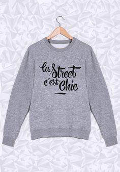 Tout est dit  #street #chic #sweat #manione #tendance #fashion