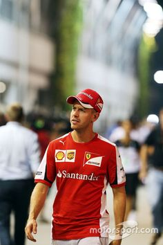 """Vettel:""""MMM, Powered by TBA!, somethings up with my old team,"""""""