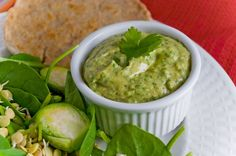 Chipotle Avocado - White Bean Dip - a lower fat, and higher protein alternative to guacamole!