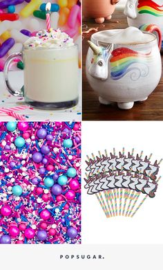 You Don't Need to Know Magic to Make This Unicorn Hot Chocolate