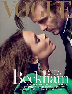 Victoria Beckham & David Beckham by Inez & Vinoodh for Vogue Paris Dec 2013