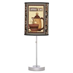Coffee Time Kitchen table lamp