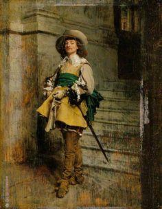 A Cavalier: Time of Louis XIII Jean-Louis Ernest Meissonier - 1861