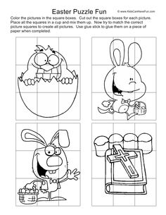 Fun Easter Puzzles