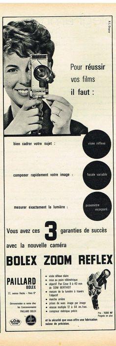 Publicité Bolex 1961