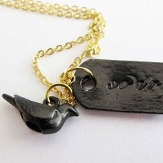 Find it at the Foundary - Bird and Soar Necklace