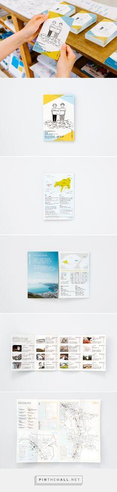 Guide Map of Hishio no Sato and Sakate Port Project in Setouchi Toriennale 2013 : UMA / design farm