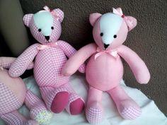 Ursinhas de patchwork