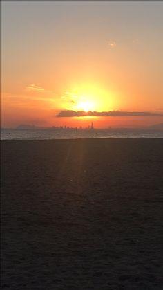 Sunset in Premià de Mar