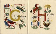 Grace Gabler, the Alphabet of Illustrators