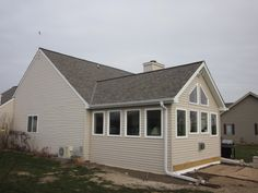 Raised Ranch With Front Sunroom Google Search Front Porch Pinterest Sunroom Ranch And