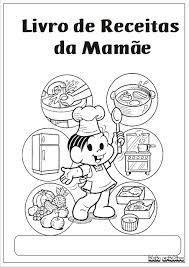 CAPA DO LIVRO DE RECEITAS MAMÃE (MÔNICA)