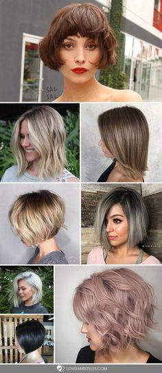 Bob hairstyles are e