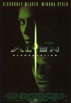 [ ALIEN RESURRECTION POSTER ]