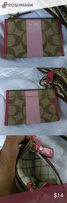 Coach Coin Purse Coach coin purse shows a little wear but still in good condition Coach Bags Wallets