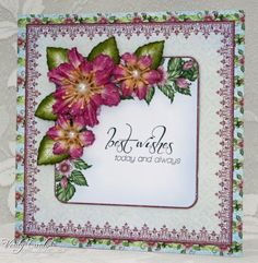 Best Wishes by Veritycards - Cards and Paper Crafts at Splitcoaststampers