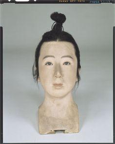 Raw doll _ Fujiwara era military officer body Tokyo National Museum Image ID: C0098389 Shooting site: Front Column article number: I-857 Age: Meiji era _20c shape: High 33.5