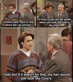 "Only one of my favorite shows of all time... Eric Matthews' Best 28 Lines On ""Boy Meets World"""