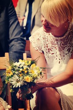 Country Wedding - Bridesmaid flowers