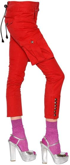 Stretch Cotton Twill Pants | #Chic Only #Glamour Always