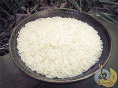 Jasmínová rýže / Jasmin rice Buckwheat, Muesli, Raw Vegan, Raw Food Recipes, Rice, Granola, Leaf Vegetable