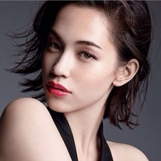 "teammizuhara: ""Kiko Mizuhara for MAQuillAGE "" Cute Japanese Women, Beautiful Japanese Girl, Japanese Models, Ellen Von Unwerth, Cindy Crawford, Kiko Mizuhara Style, Kiko Mizuhara Hair, Shiseido Maquillage, Models Makeup"