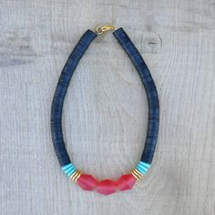 CoucouSuzette / Charlotte Necklace // Tribal Inspired Jewelry // Africa jewelry // Bold Necklace // Collier ethnique // Chunky statement necklace // Ethnic // African // Bohemian // Boho