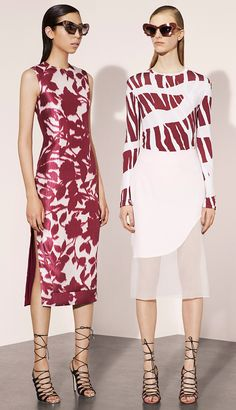 """Prabal Gurung Resort 2016 """"And the LORD said to Moses, """"Go to the people and consecrate them today and tomorrow. Have them wash their clothes."""" Exodus 19:10"""