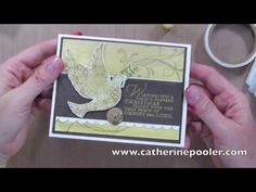 ▶ How to use Gelatos and Stampin' Up's Calm Christmas Stamp Set - YouTube