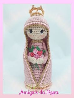 Crochet Angels, Crochet Girls, Cute Crochet, Knit Crochet, Crochet Hats, Crochet Patterns Amigurumi, Amigurumi Doll, Christmas Angels, Christmas Crafts