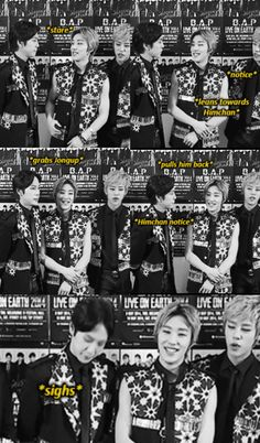 Daehyun & Himchan fighting over Jongup ...again | B.A.P