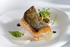 Salmon, Steak, Food, Alfalfa Sprouts, Restaurants, Birds, Atlantic Salmon, Meals, Steaks