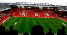 Liverpool fans give Anfield's new Main Stand their seal of approval it is unveiled at test event