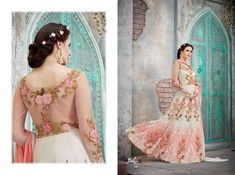 BELLA Vintage designer Anarkali dresses for wedding and party Designer Anarkali Dresses, Pakistani Designer Suits, Designer Party Dresses, Indian Dresses For Women, Indian Gowns, Lehnga Blouse, Saree, Lehenga, Diwali Dresses