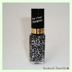 Top Coat Confettis L'Oreal - Swatch