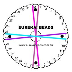 Use our pattern information to create your very own beaded kumihimo braid - this project features pink glass seed beads and purple bicone glass crystal beads. Beading Tools, Beading Projects, Beading Tutorials, Braid Patterns, Beading Patterns, Textile Tapestry, Beading Needles, Braids With Beads, Jewelry Making Tutorials