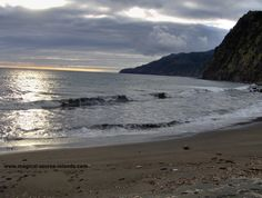 A little beach in Povoacao, Sao Miguel. This picture was taken on a cool December day