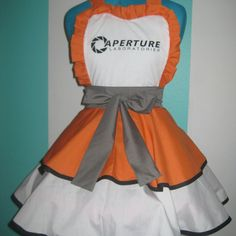 Chell Aperure Labs Cosplay Pinafore Dress Accessory | Darling Army